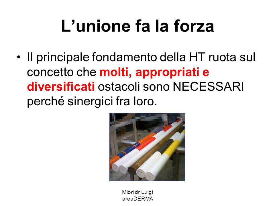 Miori dr Luigi areaDERMA Formula globale Ogni componente della formulazione è parte attiva ed integrata.