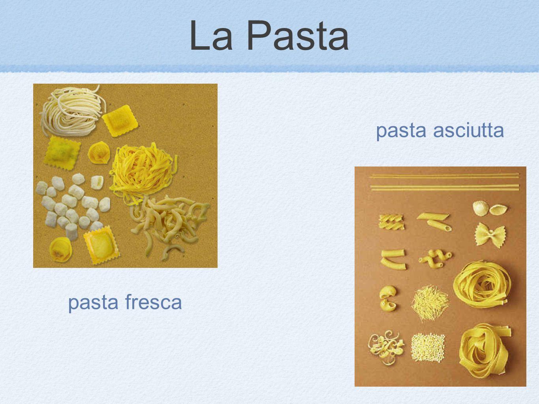 pasta fresca pasta asciutta