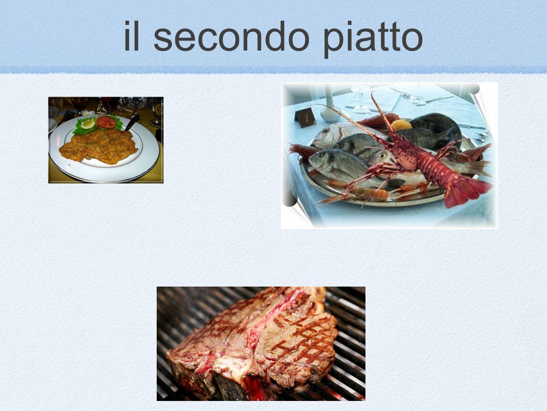 il secondo piatto