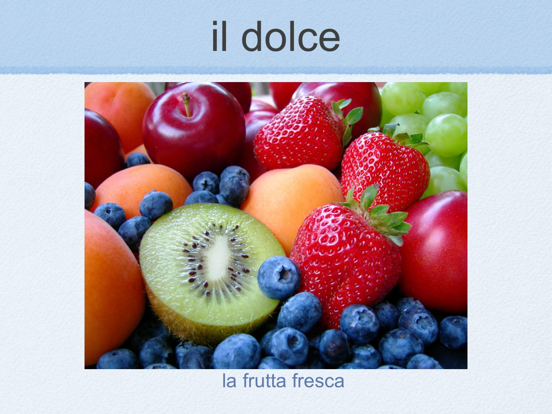 la frutta fresca