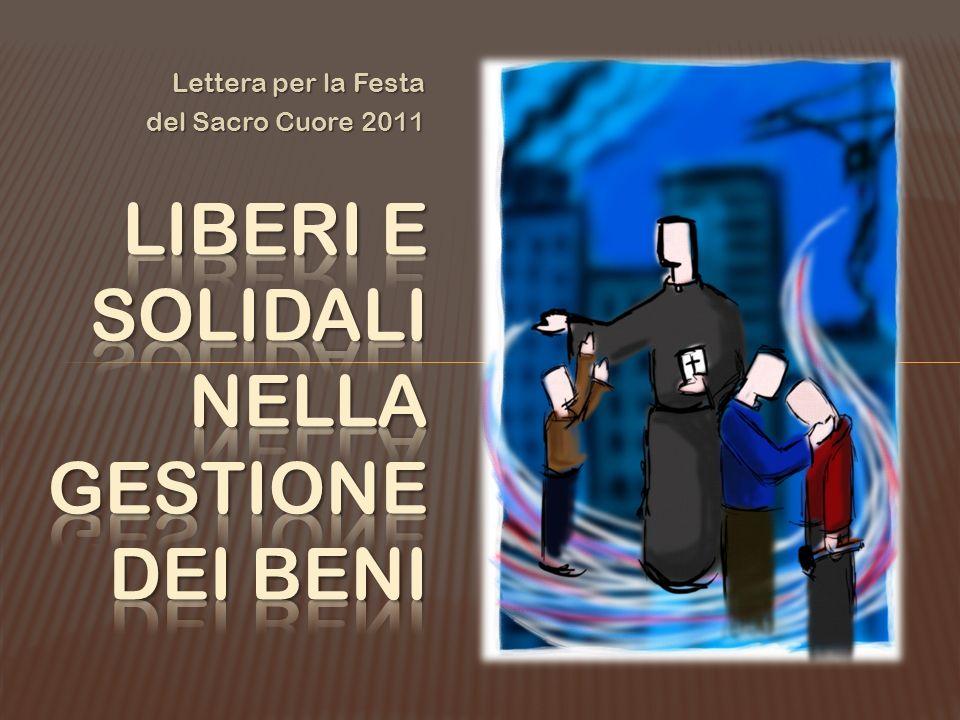 Lettera per la Festa del Sacro Cuore 2011