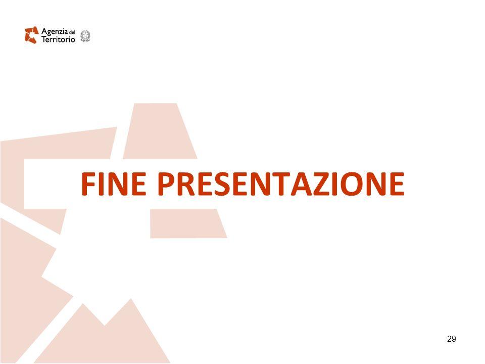 29 FINE PRESENTAZIONE