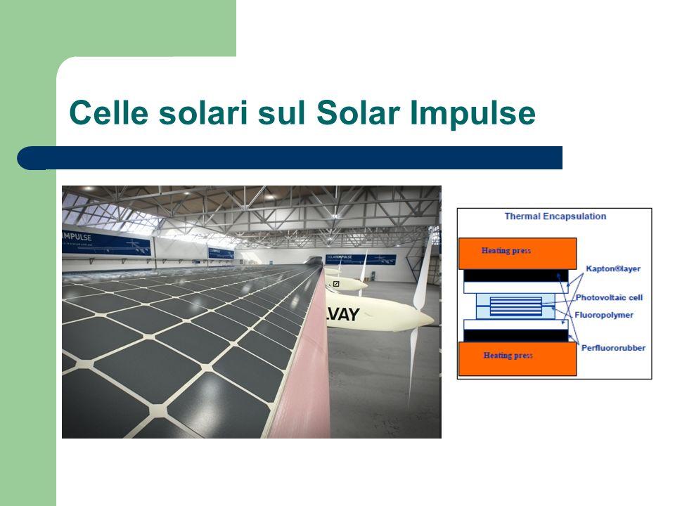 Celle solari sul Solar Impulse