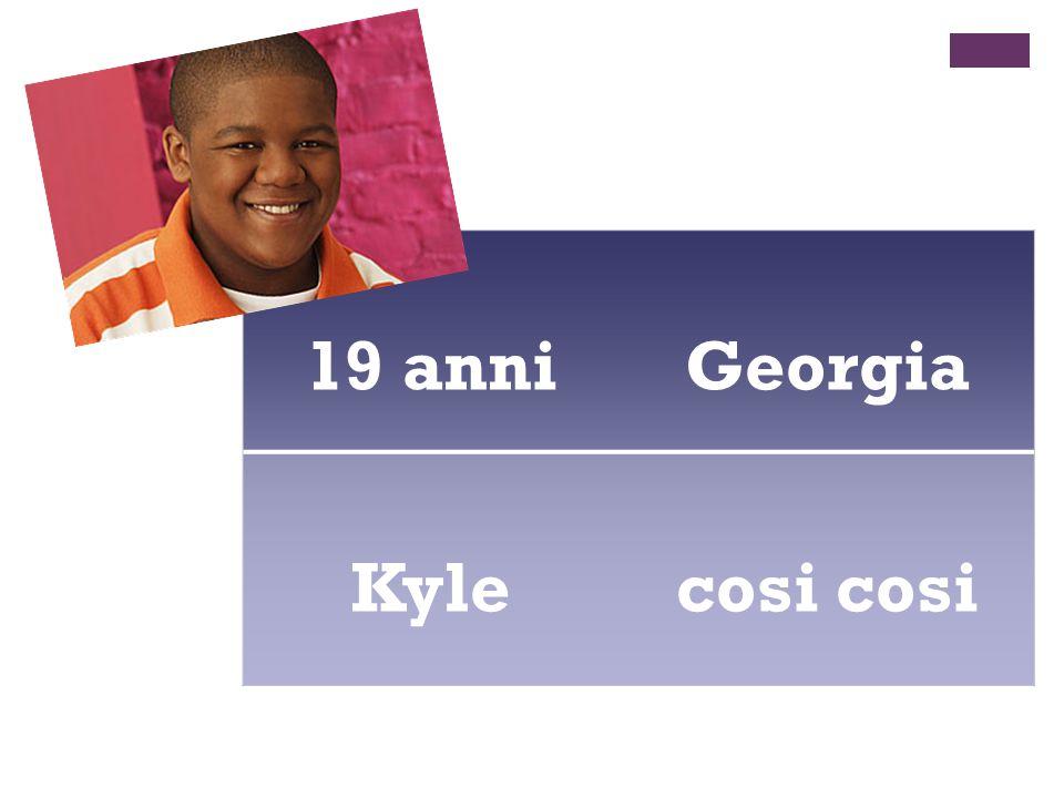 19 anniGeorgia Kylecosi