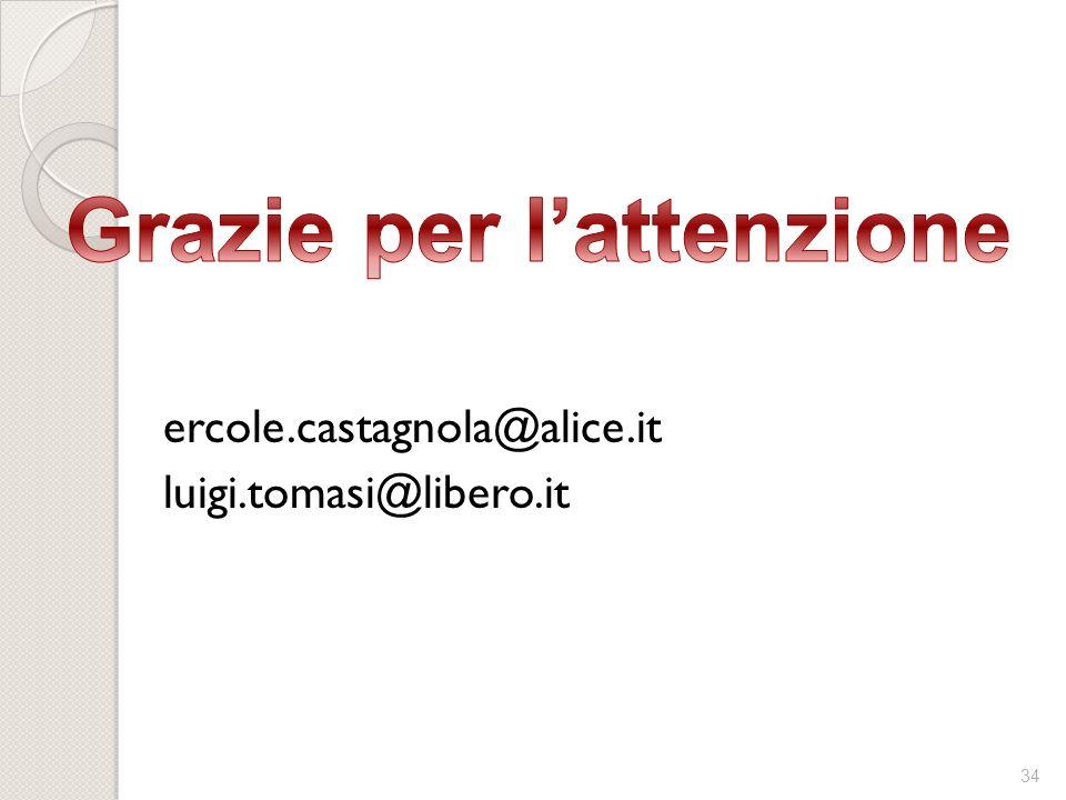 34 ercole.castagnola@alice.it luigi.tomasi@libero.it