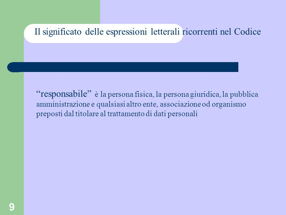 30 La privacy nella scuola Attività istituzionali Il codice consente il trattamento di dati personali solo per lo svolgimento delle funzioni istituzionali(2 comma art.