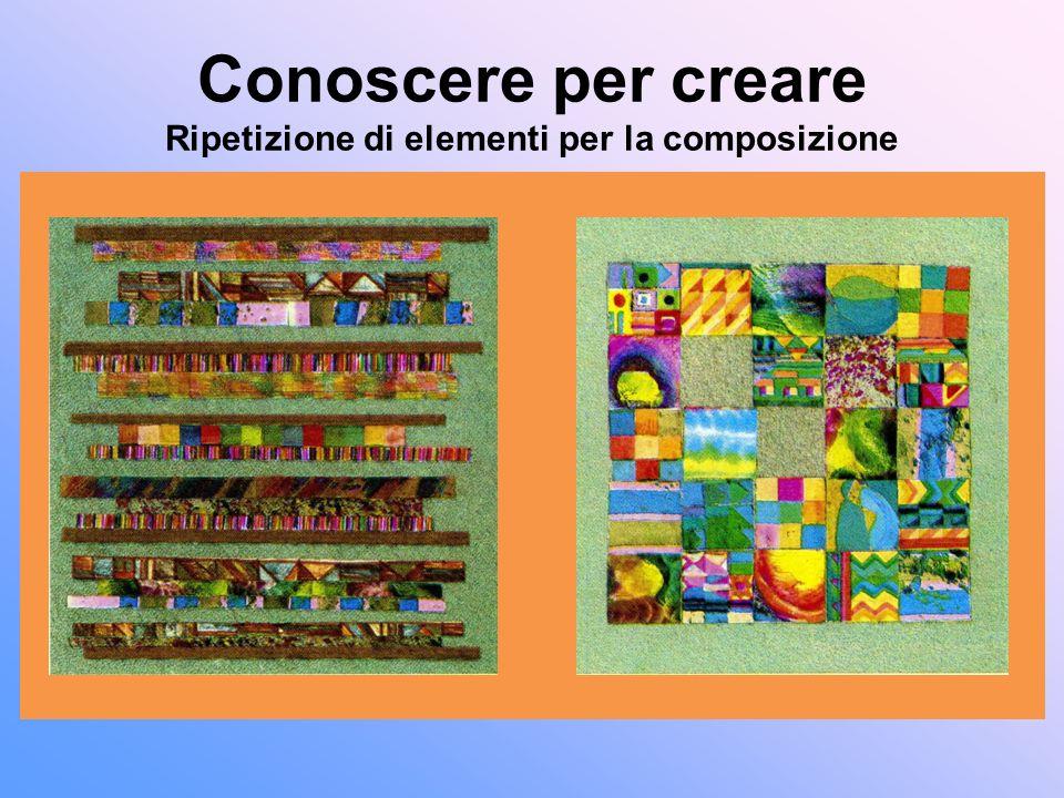 Conoscere per creare Ripetizione di elementi per la composizione