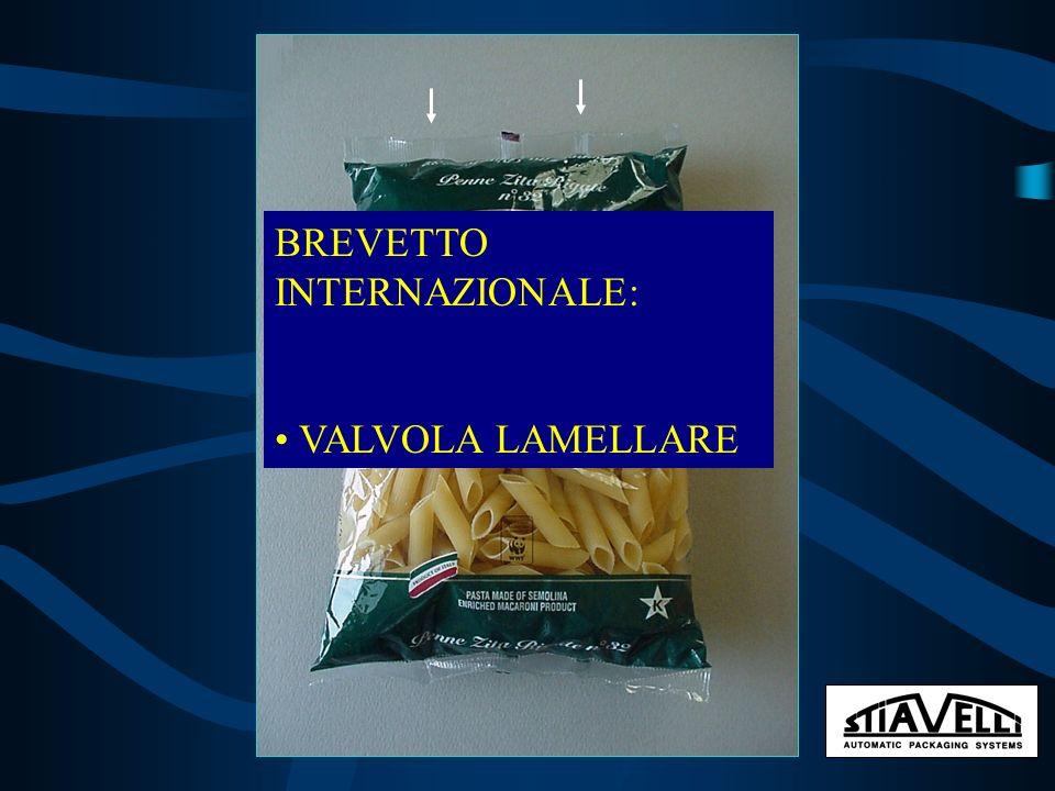 BREVETTO INTERNAZIONALE: VALVOLA LAMELLARE
