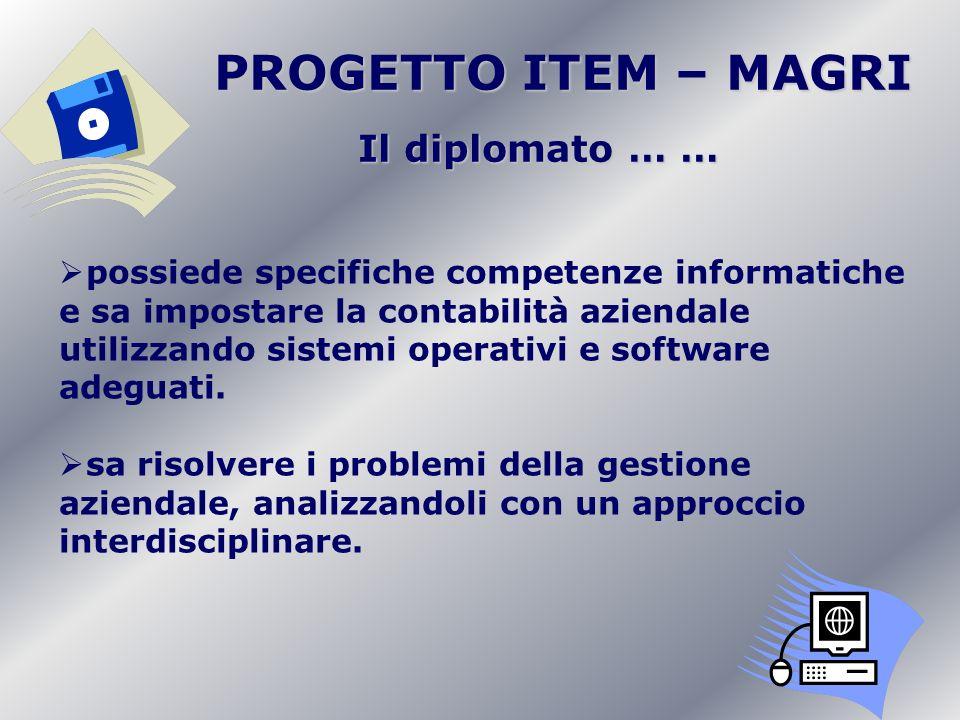 possiede specifiche competenze informatiche e sa impostare la contabilità aziendale utilizzando sistemi operativi e software adeguati. sa risolvere i