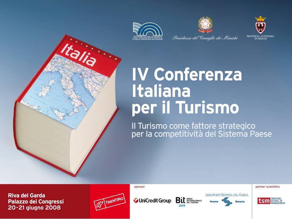 Tavolo I La proiezione estera del Turismo italiano Coordinatore Eugenio Magnani Direttore Generale ENIT-Agenzia Nazionale del Turismo
