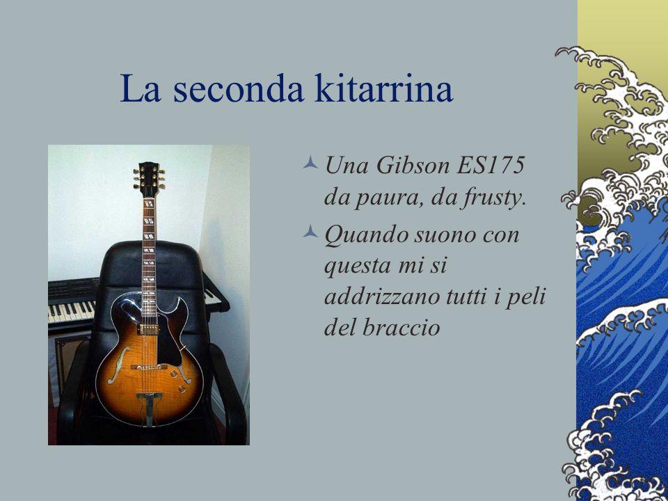 La seconda kitarrina Una Gibson ES175 da paura, da frusty.