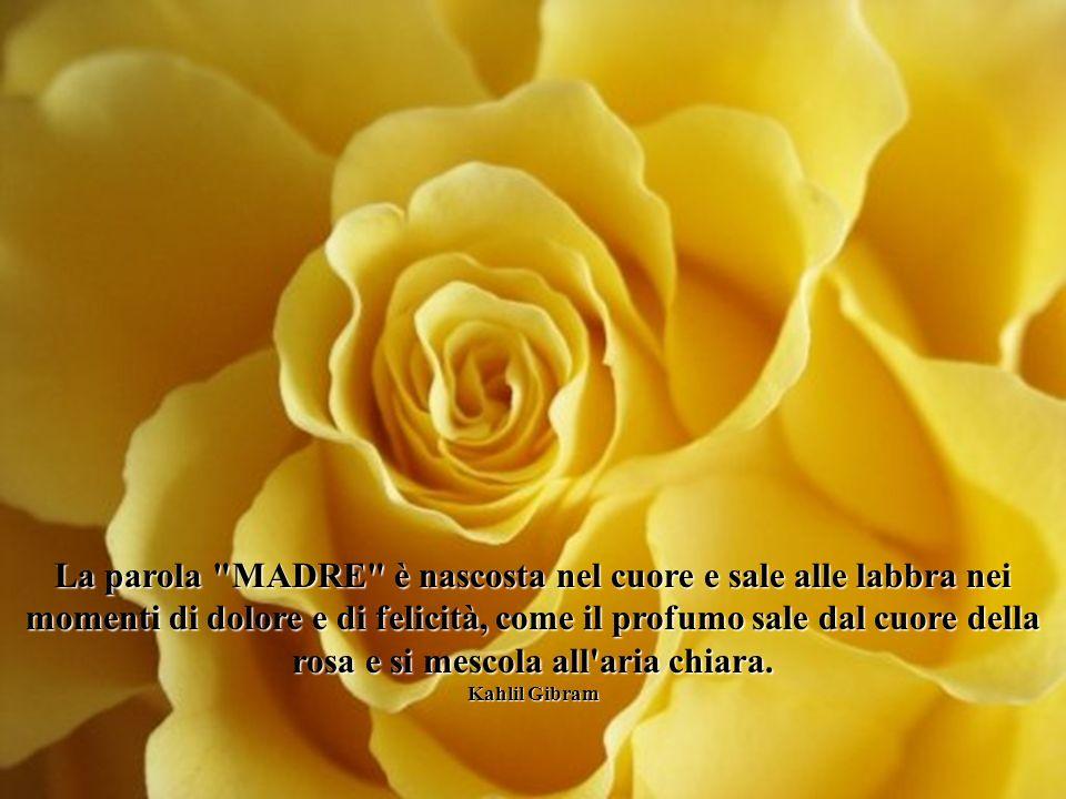 Grazie a te, donna madre, sorriso di Dio, per il bimbo che viene alla luce, tu che guidi i suoi passi nel cammino della vita Giovanni Paolo II