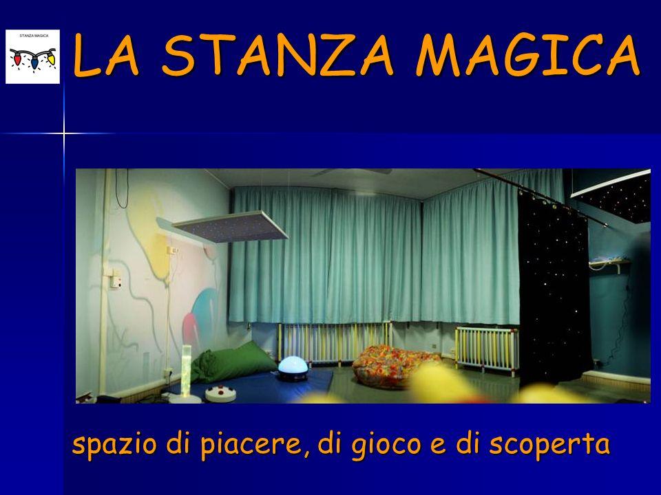 spazio di piacere, di gioco e di scoperta LA STANZA MAGICA