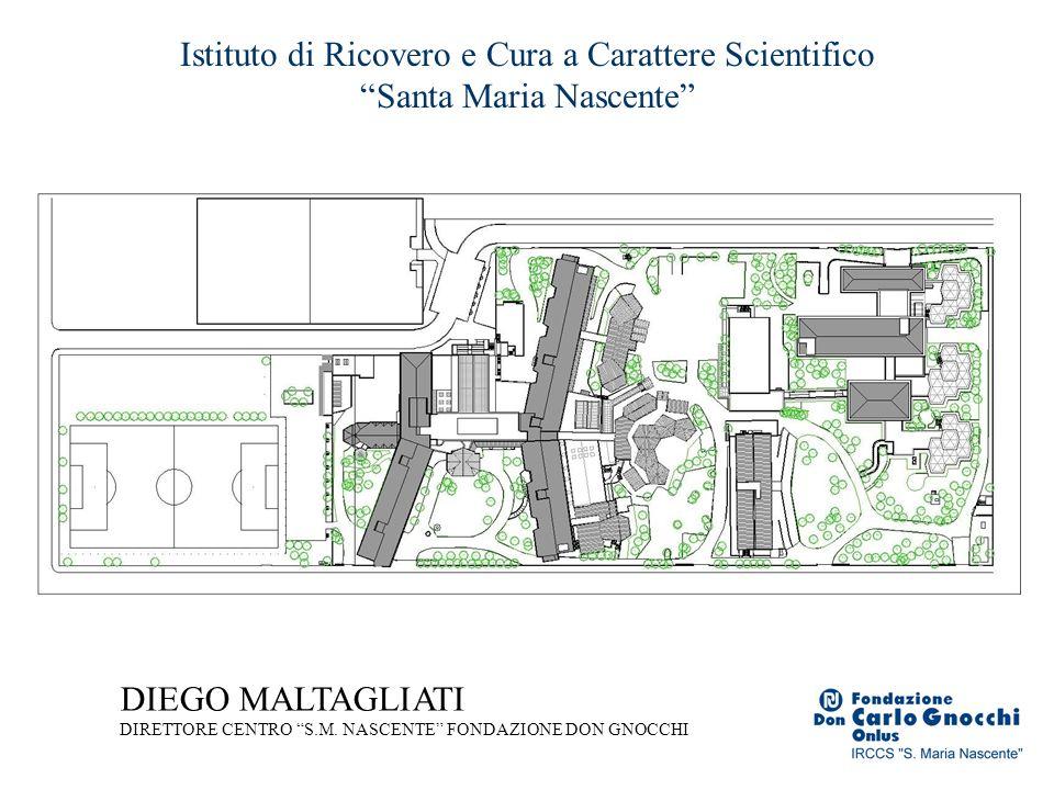 Istituto di Ricovero e Cura a Carattere Scientifico Santa Maria Nascente DIEGO MALTAGLIATI DIRETTORE CENTRO S.M. NASCENTE FONDAZIONE DON GNOCCHI