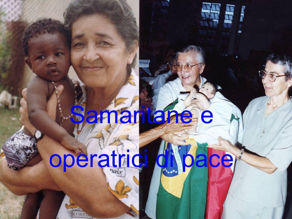 Samaritane e operatrici di pace