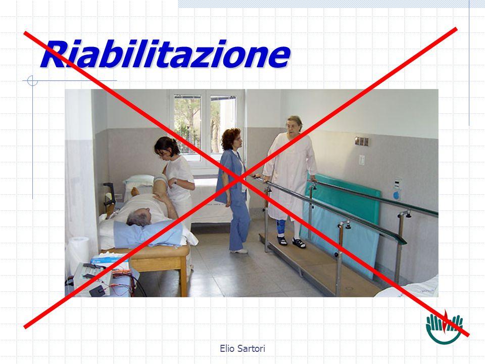 Elio Sartori Riabilitazione