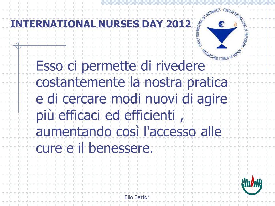 Elio Sartori Esso ci permette di rivedere costantemente la nostra pratica e di cercare modi nuovi di agire più efficaci ed efficienti, aumentando così l accesso alle cure e il benessere.