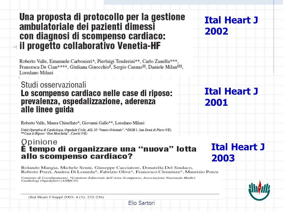 Elio Sartori Ital Heart J 2002 Ital Heart J 2001 Ital Heart J 2003