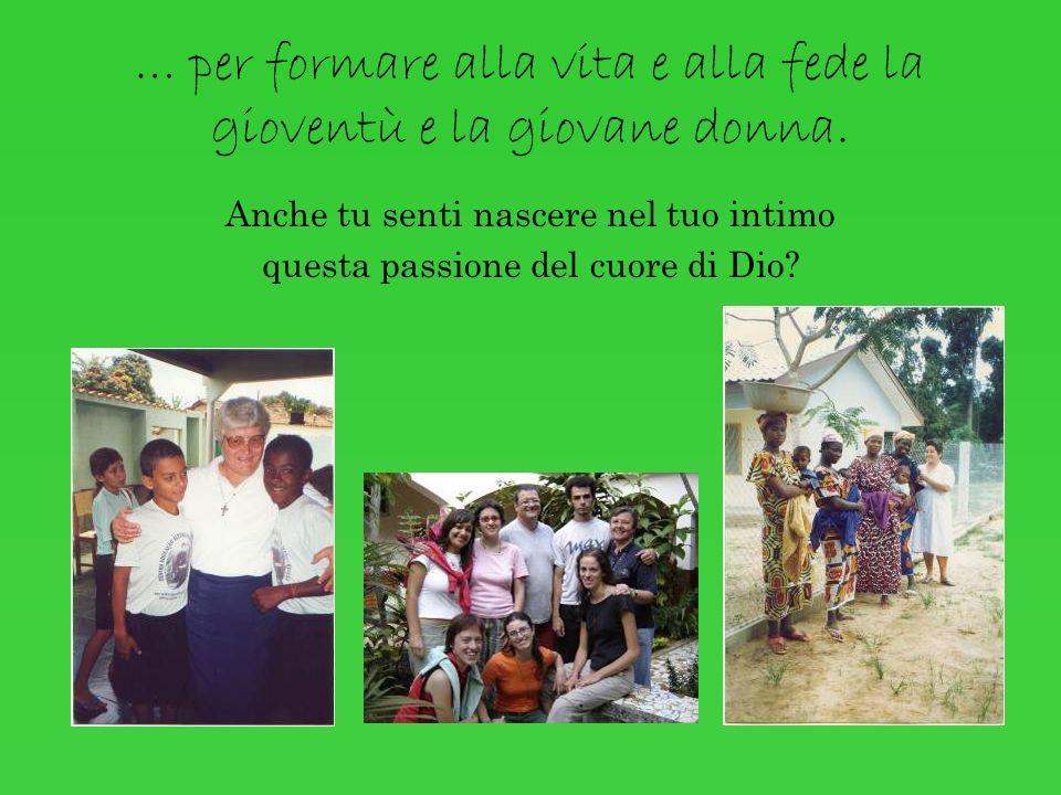 … fondò lIstituto delle Ancelle di Gesù Bambino. Oggi siamo presenti in Italia, Svizzera, Brasile e Costa dAvorio, un minimo Istituto di cui il Signor