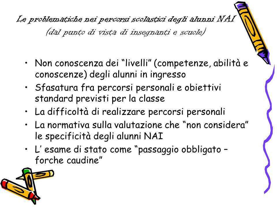Come possiamo far sì che listanza pedagogica e formativa che sorregge la scelta dei percorsi personali sia presente anche nella valutazione.
