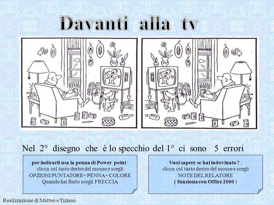 Realizzazione di Matteo e Tiziano