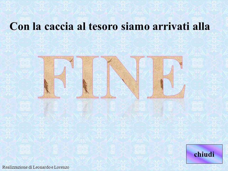 Il messaggio segreto è Spiegazione di Leonardo.