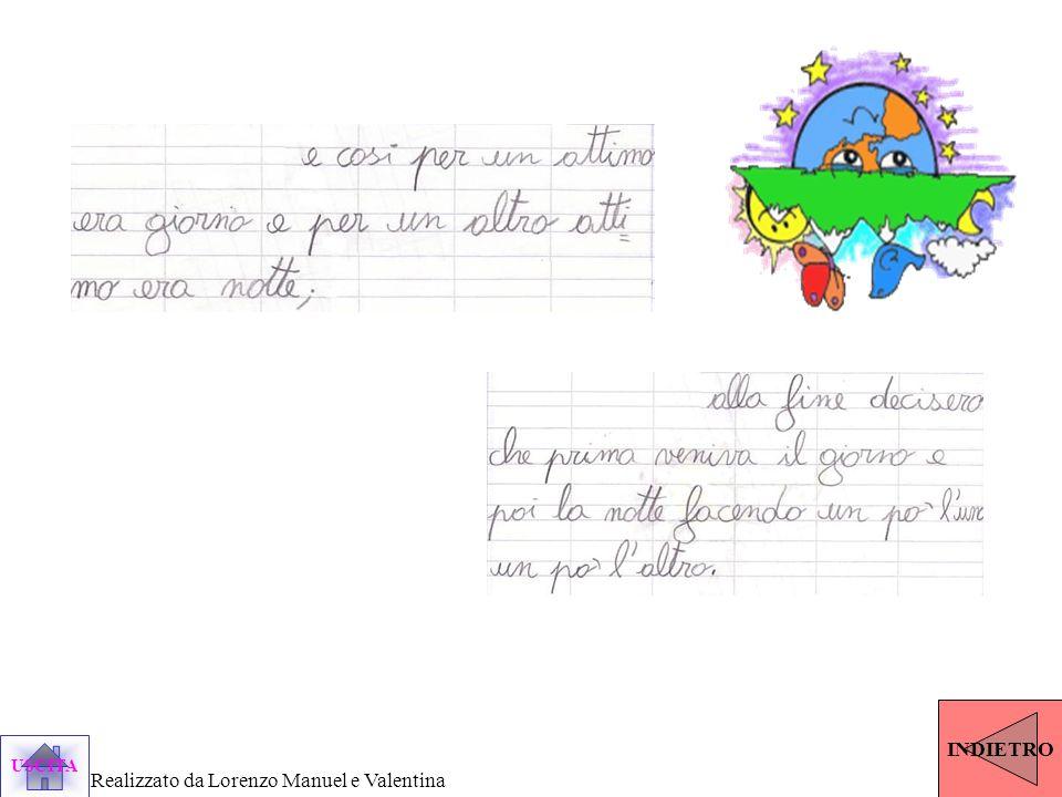 USCITA Realizzato da Lorenzo Manuel e Valentina