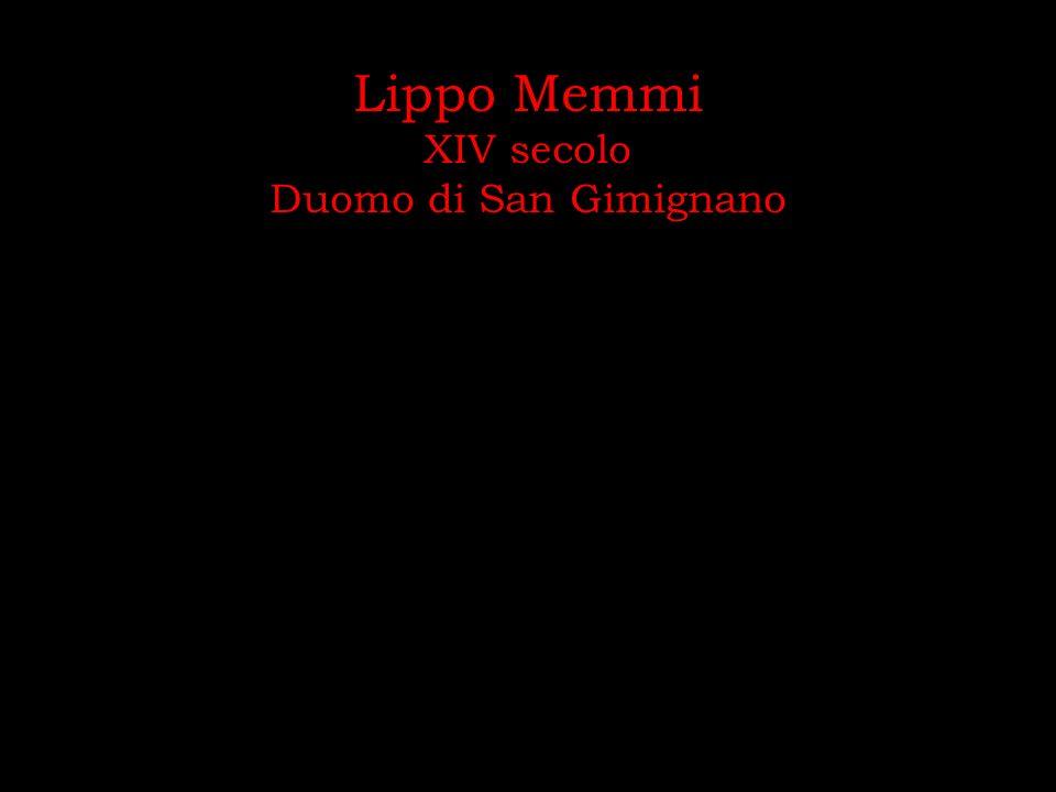 Lippo Memmi XIV secolo Duomo di San Gimignano