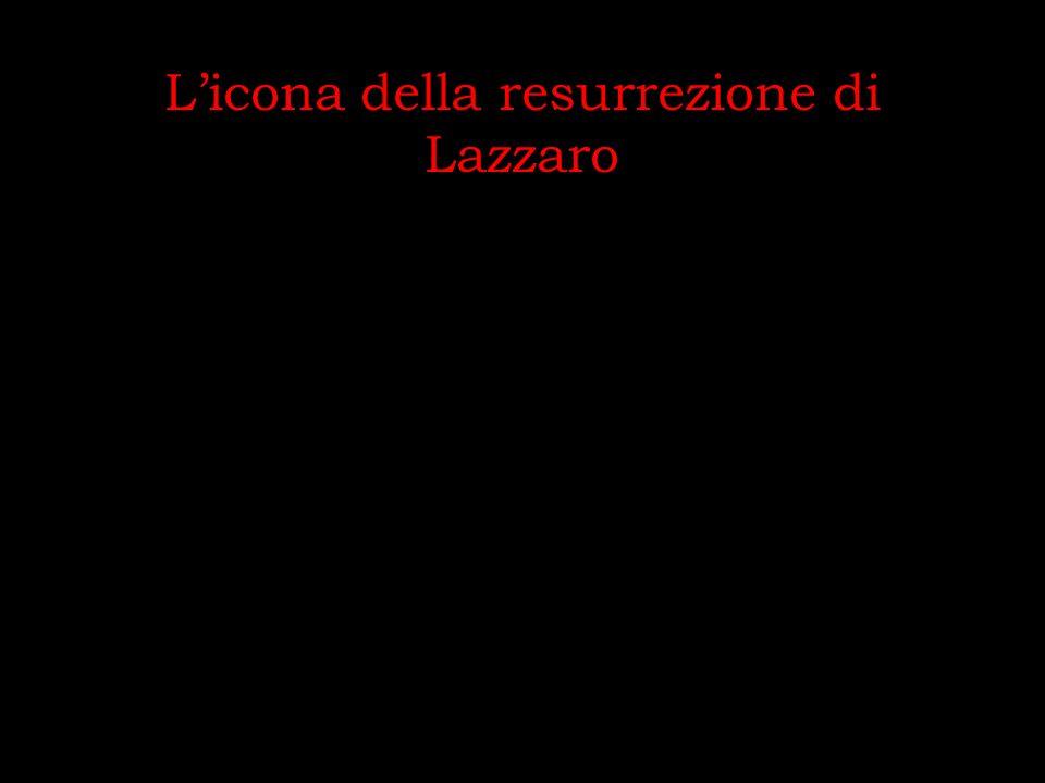 Licona della resurrezione di Lazzaro