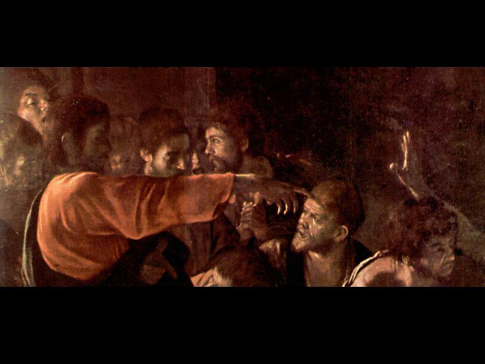 … Ma la mano destra si protende, si slancia verso Cristo, smania di ricevere la luce della Grazia, che già balugina sul suo palmo....