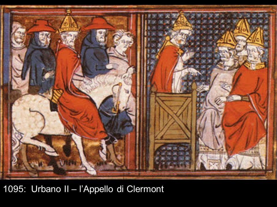 1095: Urbano II – lAppello di Clermont