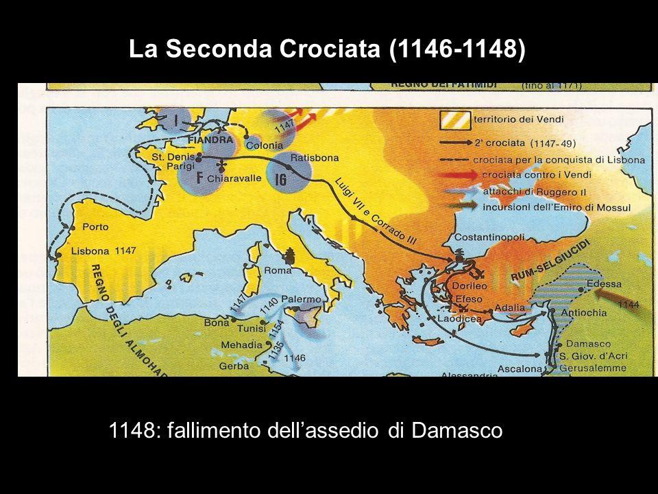 agagagagagag La Seconda Crociata (1146-1148) 1148: fallimento dellassedio di Damasco