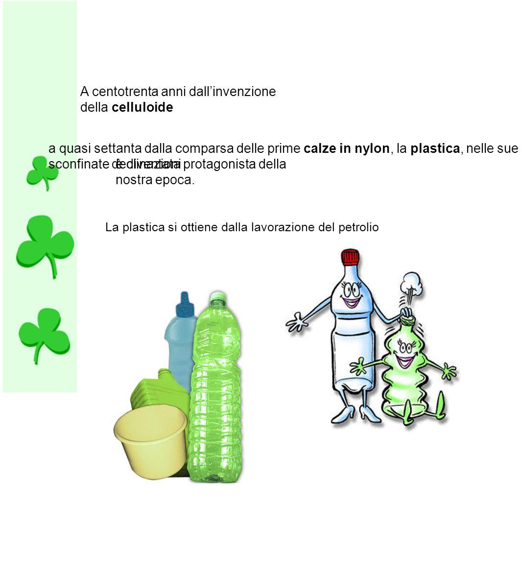 La plastica biodegradabile, al contrario, può essere assorbita dal terreno e diventare nuovamente fertilizzante per piante e cibo per i microrganismi presenti nella terrà.