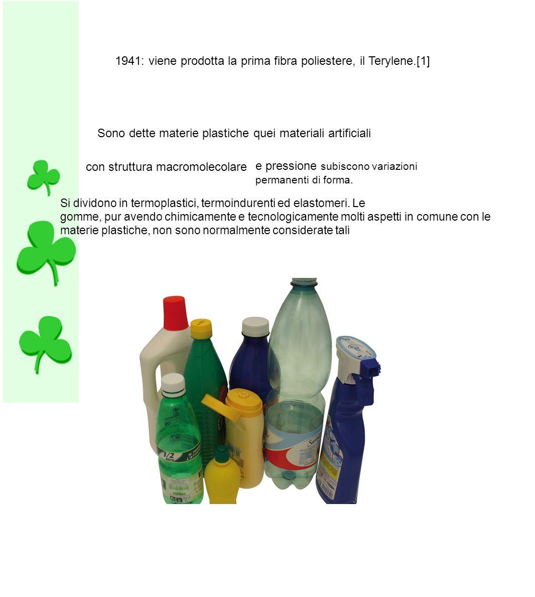 Fig.2 Lo schema illustra il ciclo di produzione di contenitori in materie plastiche a basso impatto ambientale.