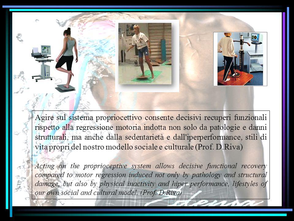 Agire sul sistema propriocettivo consente decisivi recuperi funzionali rispetto alla regressione motoria indotta non solo da patologie e danni struttu