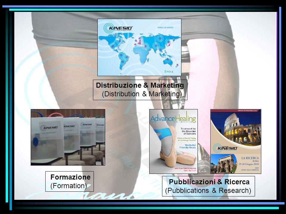 Distribuzione & Marketing (Distribution & Marketing) Formazione (Formation) Pubblicazioni & Ricerca (Pubblications & Research)