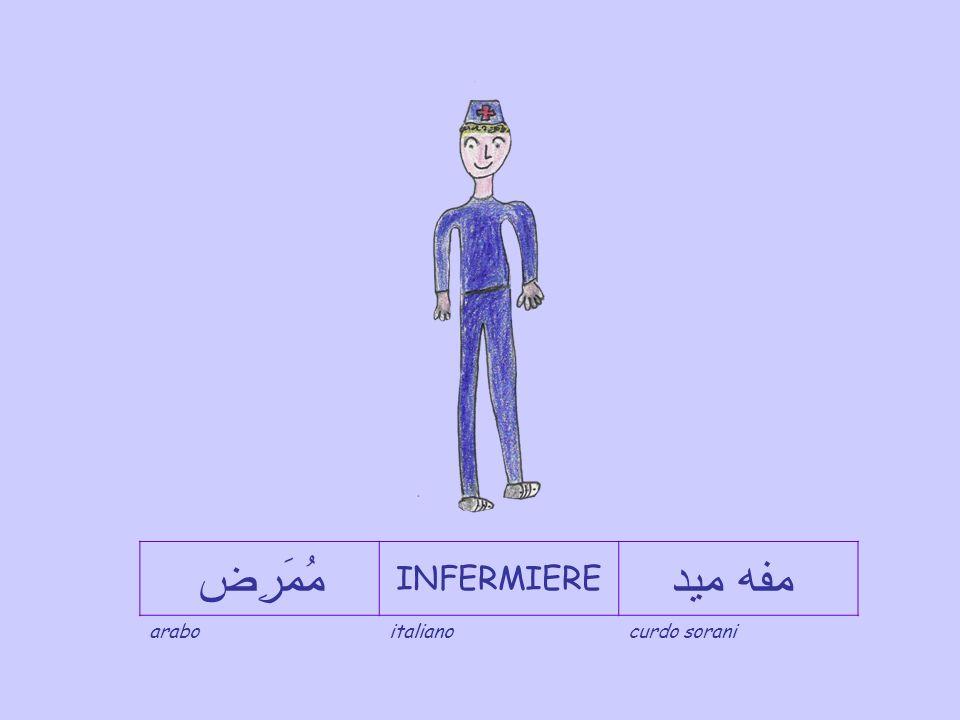 مُومَرِضه INFERMIERA سسته ر araboitalianocurdo sorani