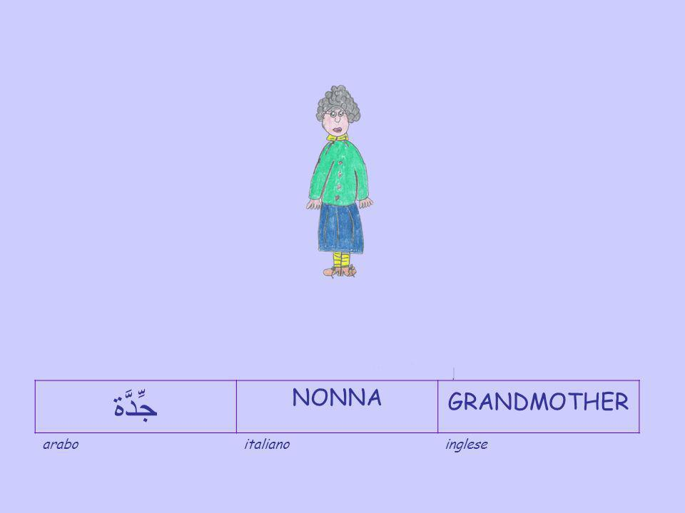 جِّدْ NONNOGRANDFATHER araboitalianoinglese