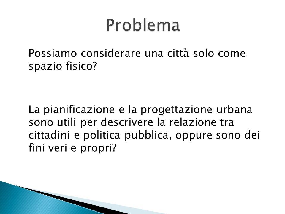 In Italia espansione, rigenerazione e riqualificazione urbanistica intendono la città esclusivamente come spazio fisico invece che come paesaggio e come racconto
