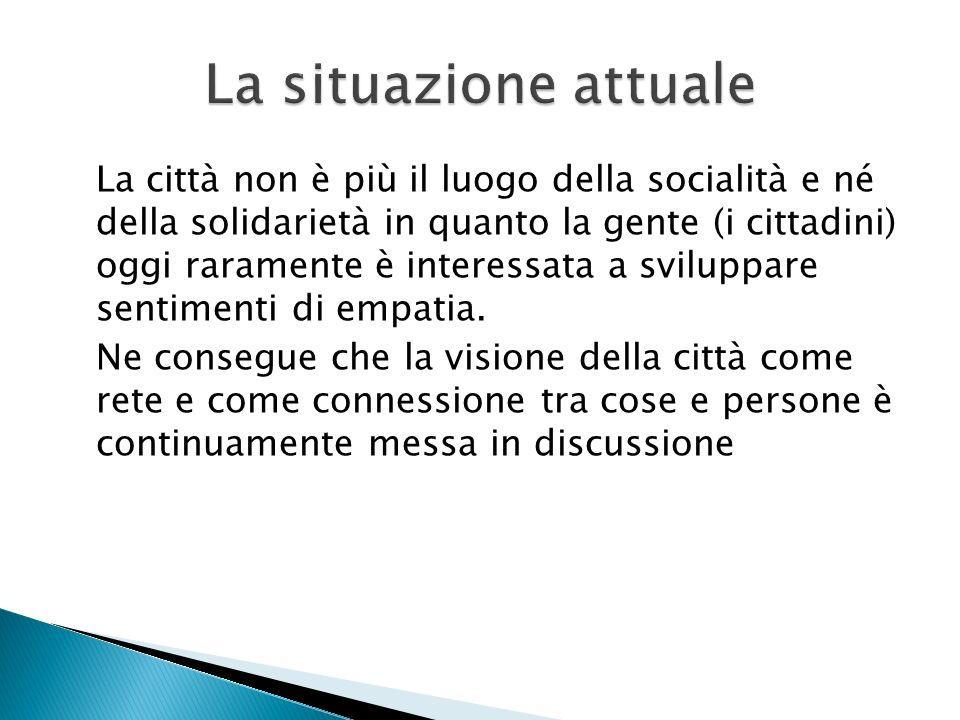 3) definire il codice per raggiungere un sistema di welfare inclusivo 3) assegnare significati socialmente condivisi alleconomia per stabilire un collegamento inter-organizzativo tra strutture ed attori sociali