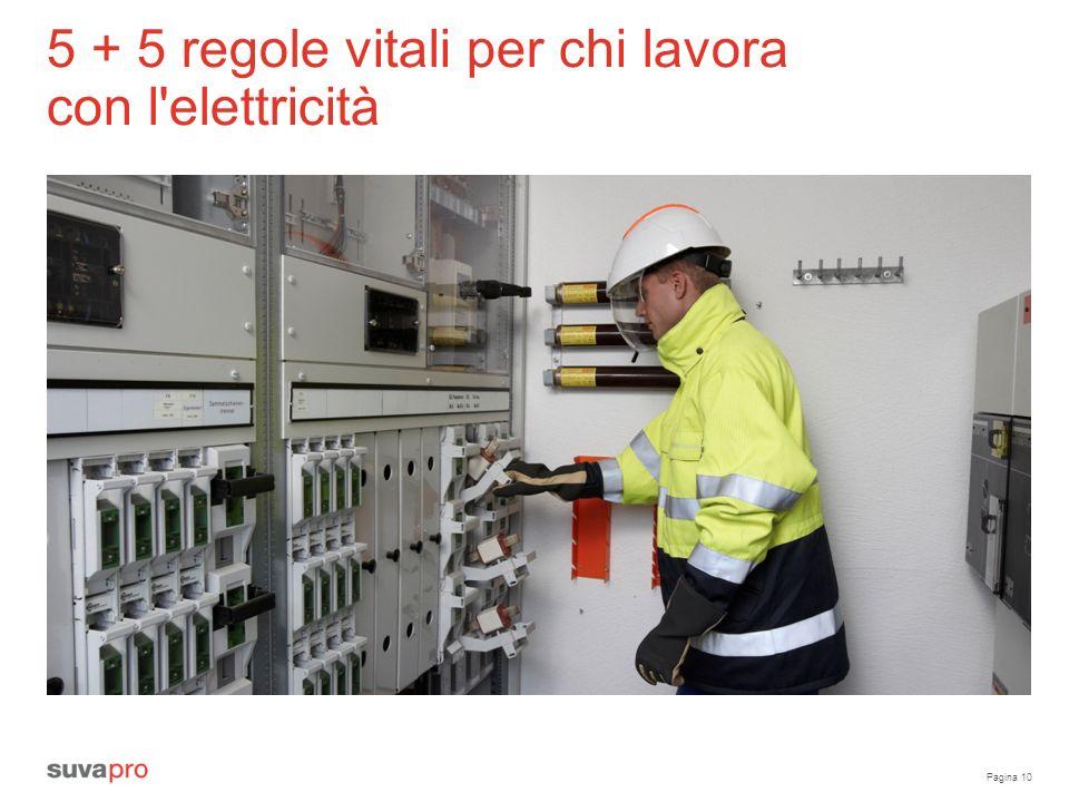 Pagina 10 5 + 5 regole vitali per chi lavora con l elettricità