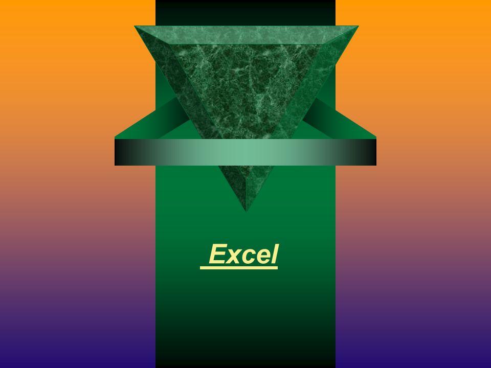 Microsoft Excel è usato come foglio elettronico e generatore di grafici Excel consente di eseguire calcoli complessi e creare formule per fornire automaticamente il risultato.