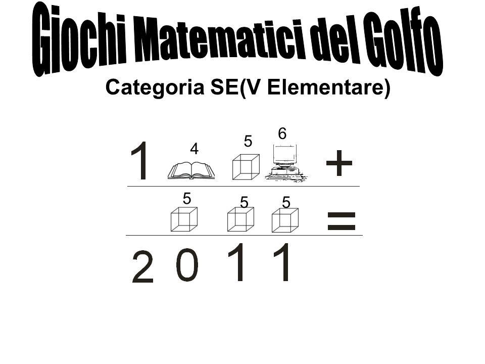 Categoria SE(V Elementare) 4 5 6 5 55