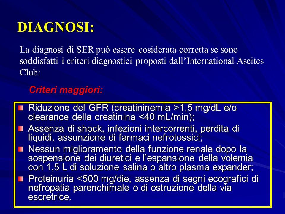 MISURE A CUI RICORRERE IN CASO DI SER SOSPETTA Monitorizzare PVC Sospensione farmaci considerati nefrotossici Emocromo, conta leucocitaria, es.