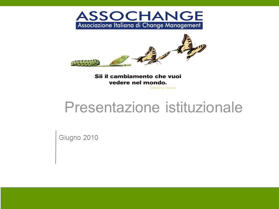 Presentazione istituzionale Giugno 2010