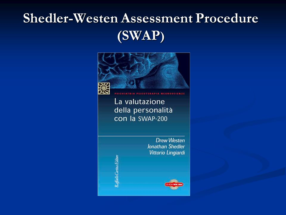 Shedler-Westen Assessment Procedure (SWAP )