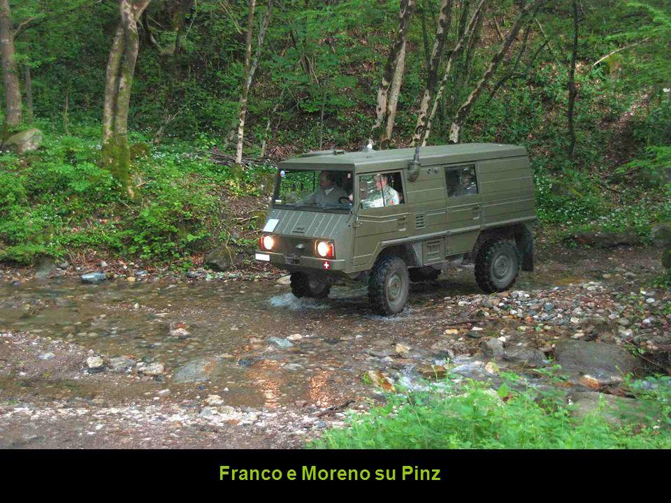 Franco e Moreno su Pinz