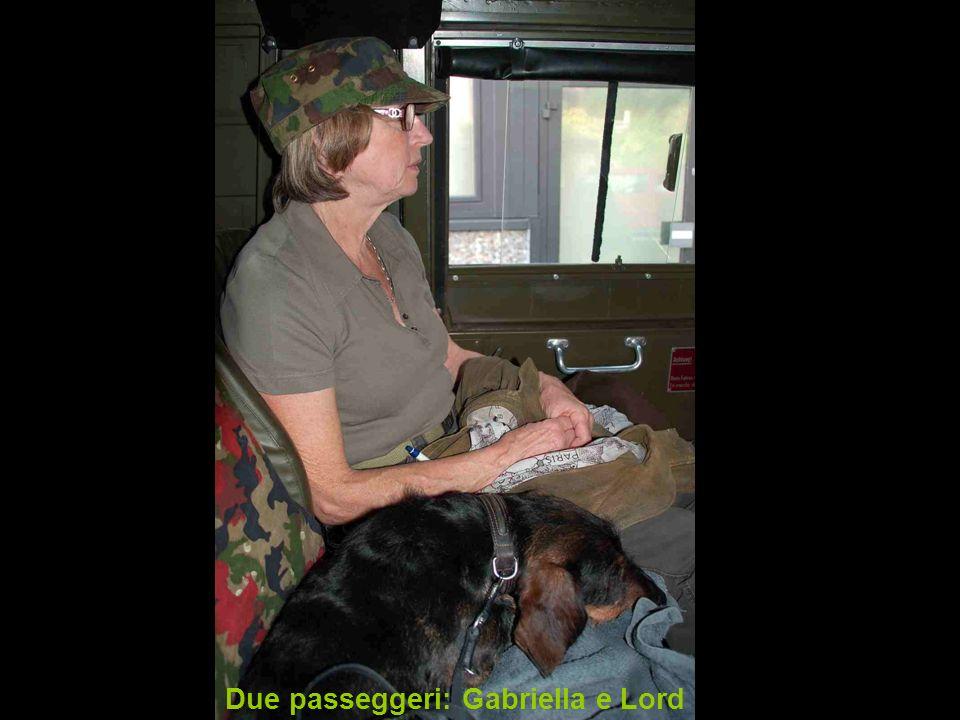 Due passeggeri: Gabriella e Lord