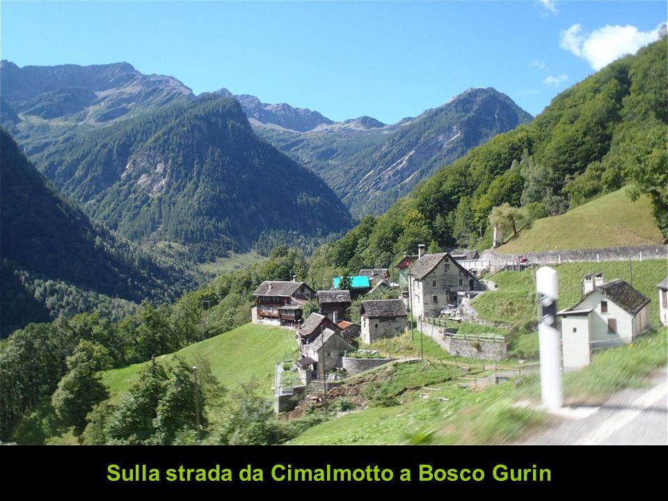 Sulla strada da Cimalmotto a Bosco Gurin