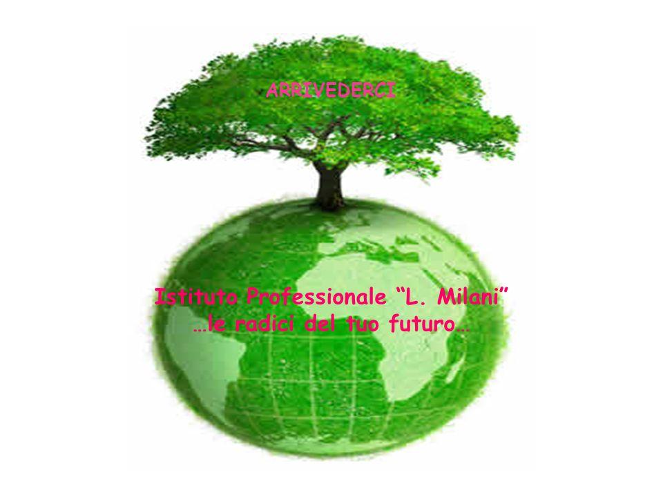 Istituto Professionale L. Milani …le radici del tuo futuro… ARRIVEDERCI